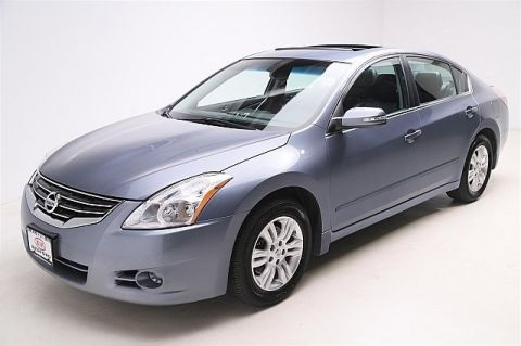Pre-Owned 2012 Nissan Altima 4d Sedan S w/SL Pkg Front Wheel Drive 4dr Car