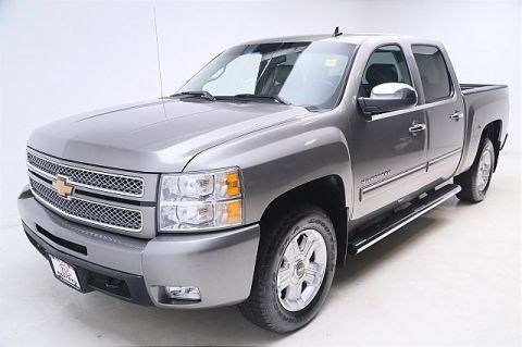 Pre-Owned 2013 Chevrolet Silverado 1500 4WD Crew Cab LTZ Four Wheel Drive Short Bed