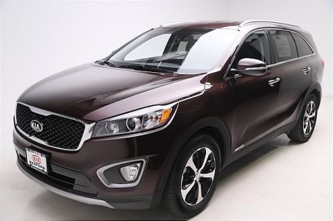 Pre-Owned 2016 Kia Sorento AWD 5d Wagon EX V6 All Wheel Drive Sport Utility