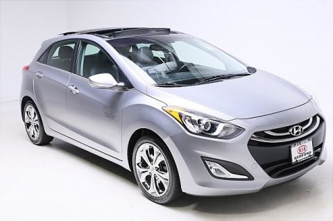Pre-Owned 2013 Hyundai Elantra GT Base w/Blue FWD 4D Hatchback