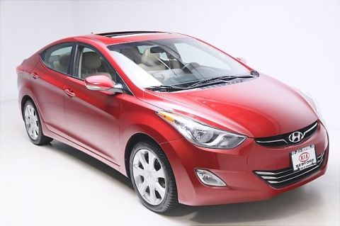 Pre-Owned 2012 Hyundai Elantra Limited FWD 4D Sedan