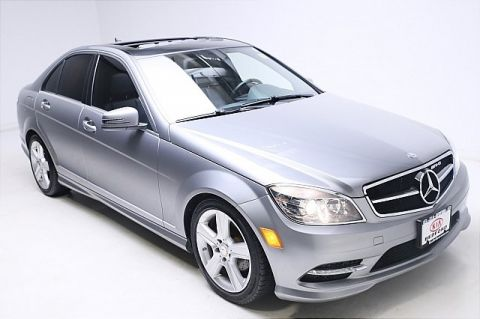 Pre-Owned 2011 Mercedes-Benz C-Class C300 4MATIC® 4D Sedan